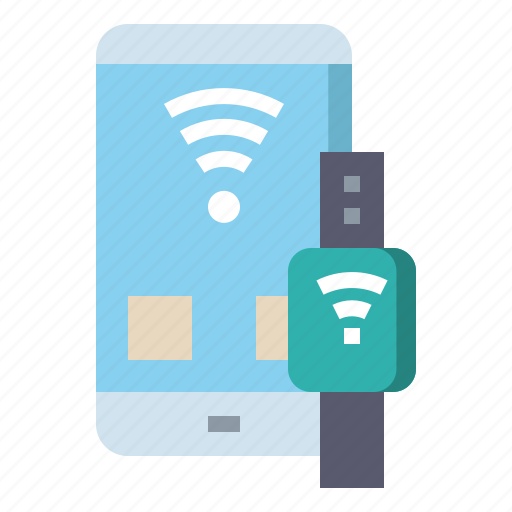 Device, wifi, technology, connect, smartwatch icon