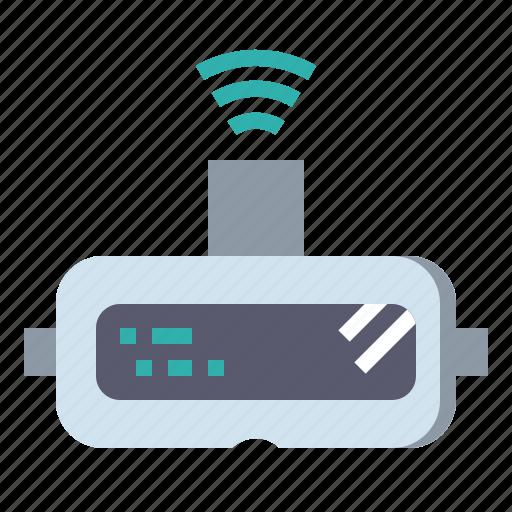 gaming, glasses, movie, multimedia, reality, virtual, vr icon