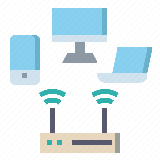 connectivity, electronics, network, wifi, wireless icon