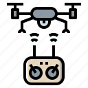 camera, device, drone, internet, network icon