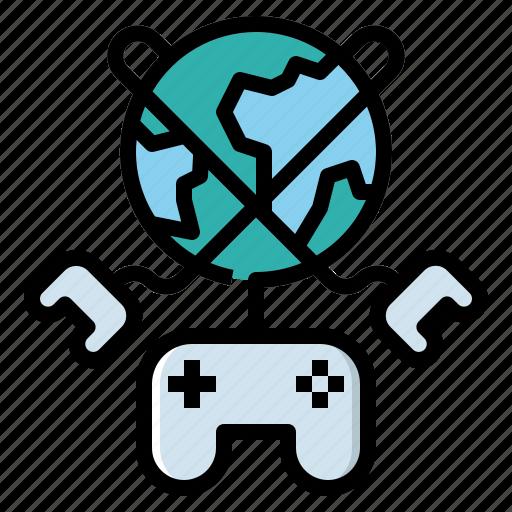 Gamepad, gaming, internet, online, world icon - Download on Iconfinder