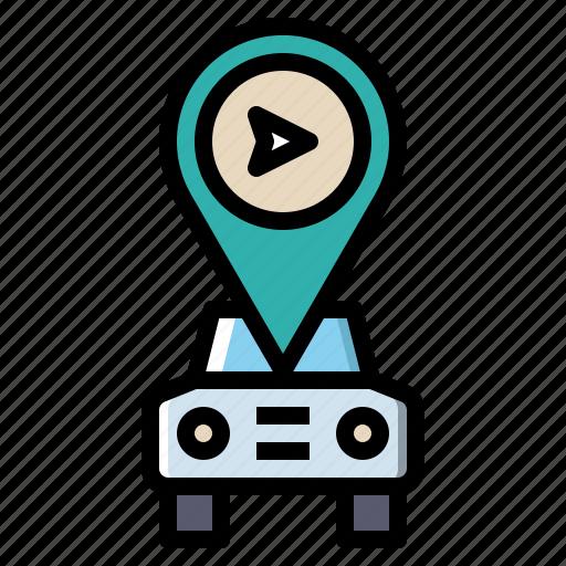 Gps, internet, map, navigation, transportation icon - Download on Iconfinder