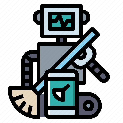 Android, electronics, industry, robot, robotics icon - Download on Iconfinder