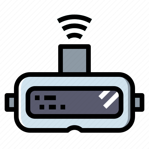 gaming, glasses, movie, multimedia, reality, virtual, vr icon