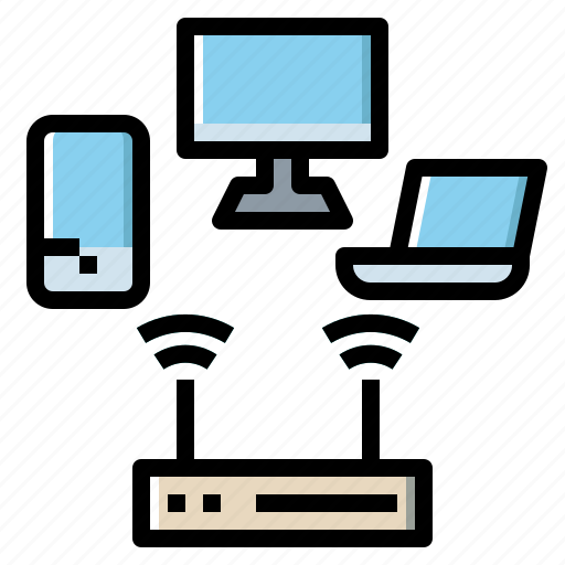 Connectivity, electronics, network, wifi, wireless icon - Download on Iconfinder