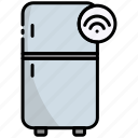 refrigerator, fridge, electronics, internet of things, iot