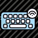 keyboard, hardware, type, internet of things, iot
