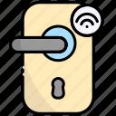 door, handle, lock, internet of things, iot