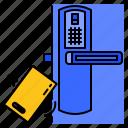 smart, door, security, control, lock, home