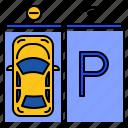 smart, parking, car, vehicle, system, sensor