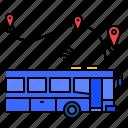 transportation, bus, traffic, urban, iot, city, smart