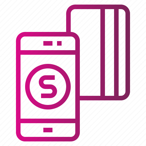 banking, business, credit, method, mobile, online, payment icon