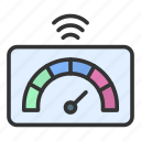 smart meter, gauge, speed, speedometer