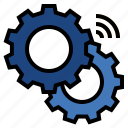 industry, internet of things, iot, smart factory, smart machine icon