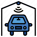 car, iot, parking, internet of things, smart parking