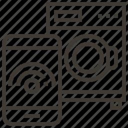 device, machine, signal, technology icon