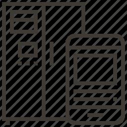 device, fridge, refrigerator icon