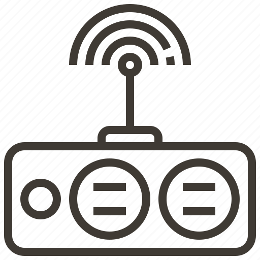 device, router, signal, technology icon