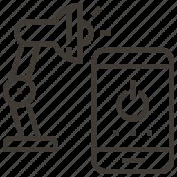 device, lamp, light, power icon