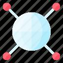 globe, network, comunication, world, internet icon