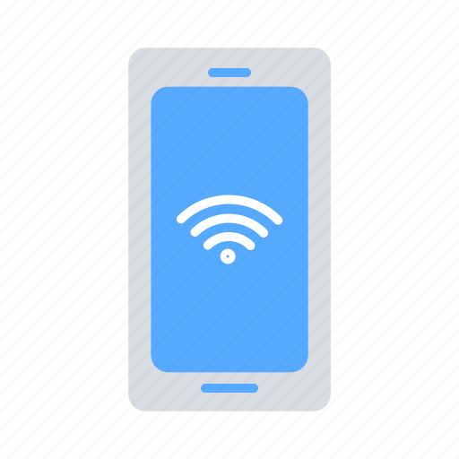 communication, connectivity, internet of things, iot, mobile phone, wifi, wireless icon