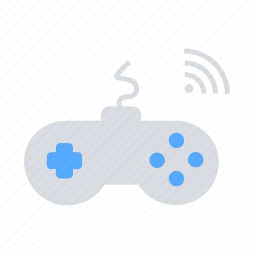 game, gaming, internet of things, iot, joystick, wireless icon