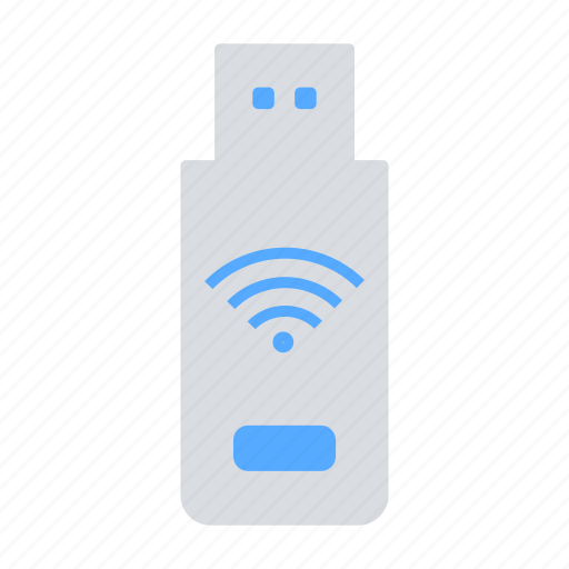 Connectivity, pendrive, portable wifi, usb, wifi, wireless device icon - Download on Iconfinder