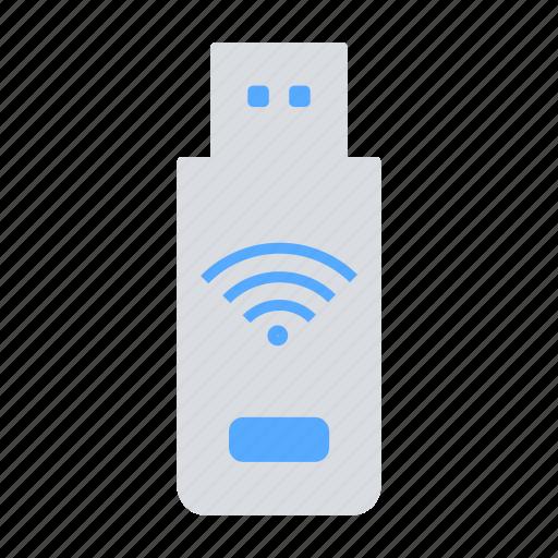 connectivity, pendrive, portable wifi, usb, wifi, wireless device icon