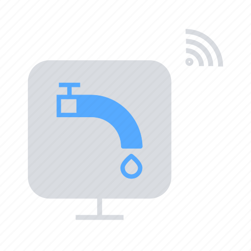 Home automation, internet of things, iot, signal, wifi, wireless icon - Download on Iconfinder