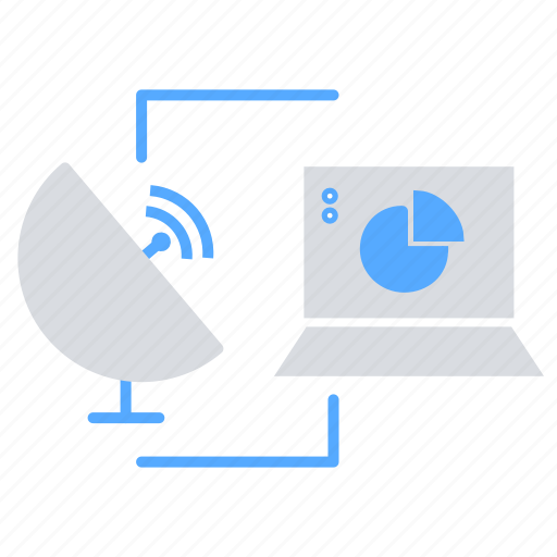 Communication, data transfer, internet of things, satellite communication, wifi, wireless icon - Download on Iconfinder