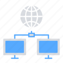 communication, connectivity, data transfer, internet, iot, server icon