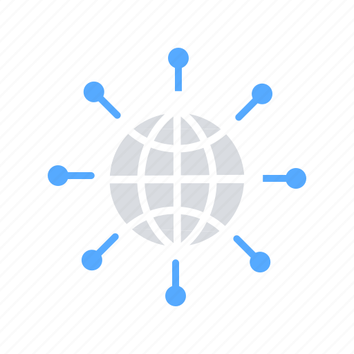 Connectivity, global communication, global network, internet, internet of things, web service icon - Download on Iconfinder