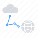 global connectivity, communication, cloud server, cloud network, internet, cloud storage