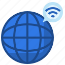 earth, wireless, internet, grid, seo, web, globe icon