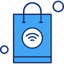 bag, internet, shopping, things