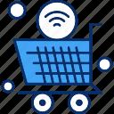 internet, things, trolley, wifi