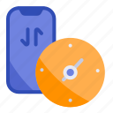 connection, internet, network, speed, test icon