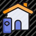 digital, home, house, internet, smart