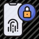 fingerprint, internet, scanner, security, unlock