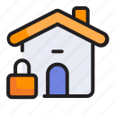 home, house, internet, locked, security