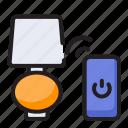 controller, internet, lamp, light, remote
