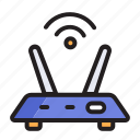 connection, internet, network, router, wifi
