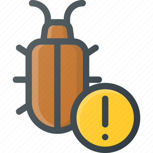 alert, bug, internet, network, security, virus, web icon
