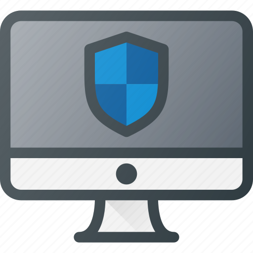 computer, internet, network, protection, security icon
