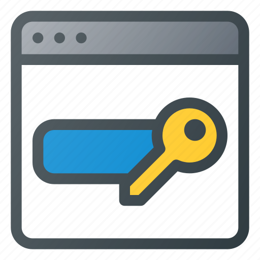Equire, internet, network, password, protection, security, web icon - Download on Iconfinder