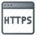 https, internet, network, protection, security, web icon