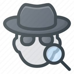 internet, network, protection, search, security, spy, web icon