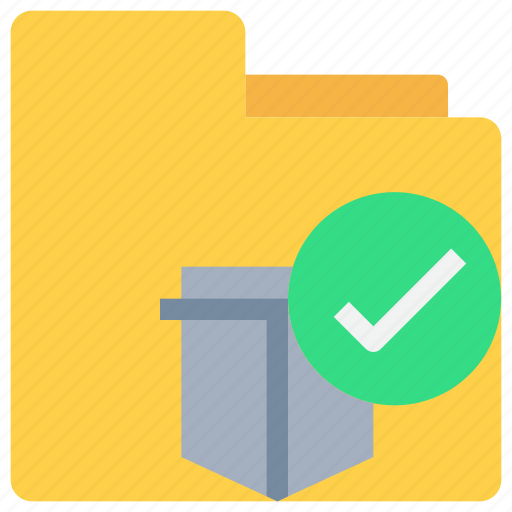 data, document, folder, protection, secure, security icon
