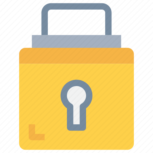 key, padlock, secure, security icon