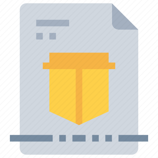 data, document, file, protection, secure, security icon